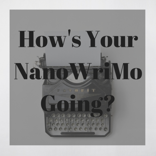 How's Your NanoWriMo Going-
