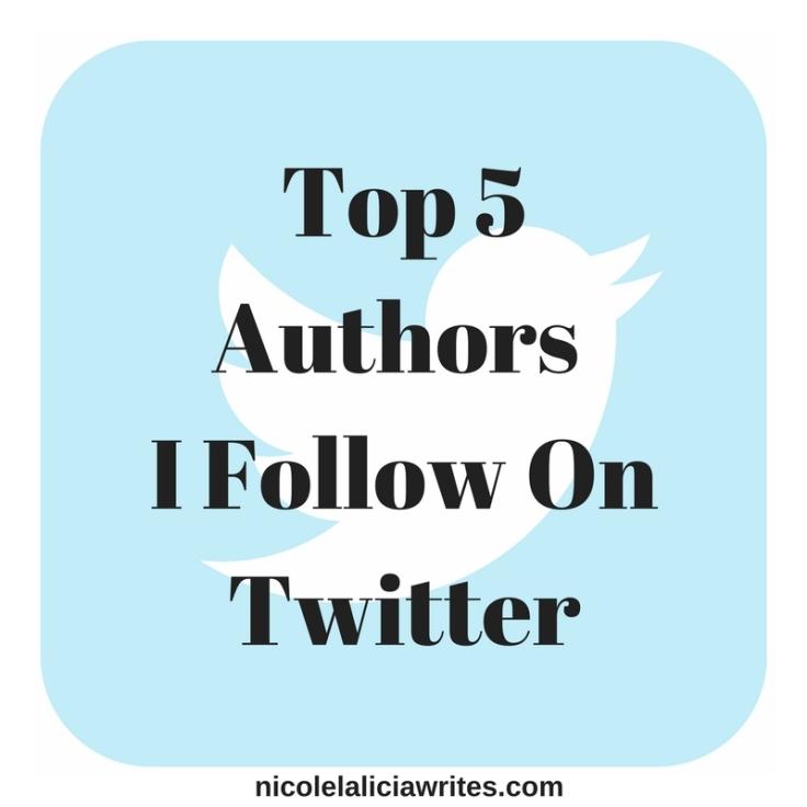 Top 5 Writers I Follow on Twitter