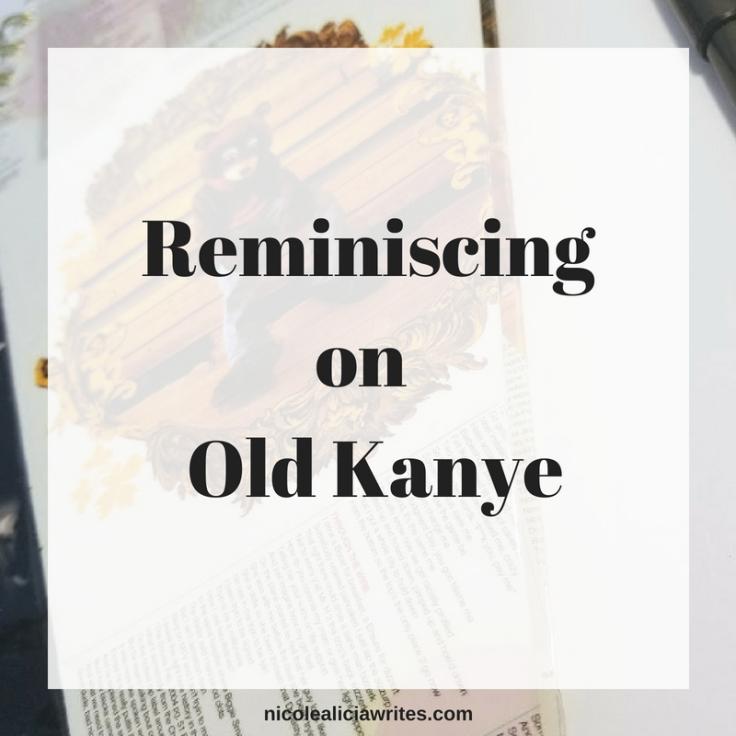 Reminiscing on Old Kanye (1)