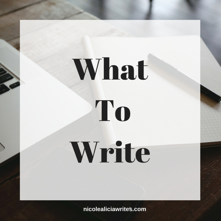 What To Write